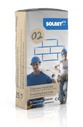 Zaprawa murarska do cienkich spoin do betonu komórkowego na cemencie szarym 0.2