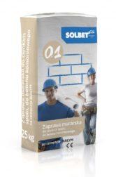Zaprawa murarska do cienkich spoin do betonu komórkowego na cemencie białym 0.1