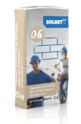Zaprawa murarska do cienkich spoin do silikatów na cemencie białym 0.6
