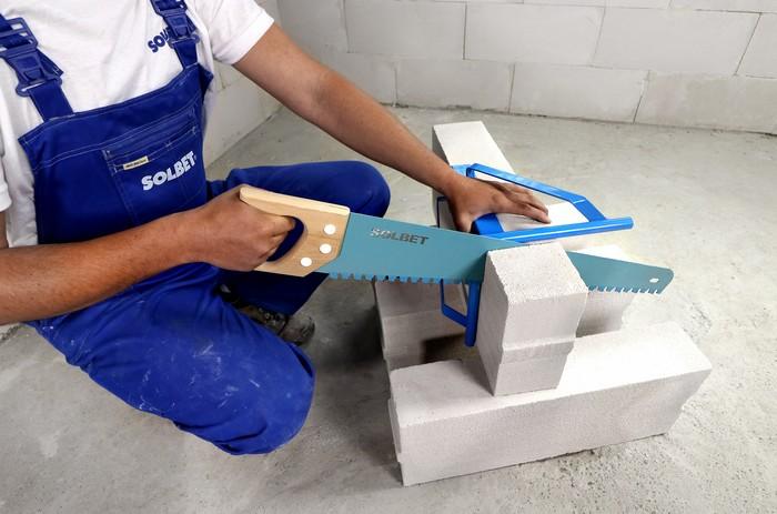 systemowe narzędzia do betonu komórkowego SOLBET