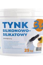 Tynk zewnętrzny silikonowo-silikatowy 3.1