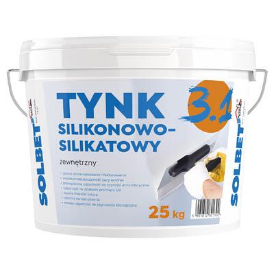 SOLBET Tynk Silikonowo-Silikatowy 3.1