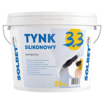 Tynk zewnętrzny silikonowy 3.3